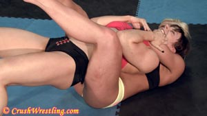 Marissa mcthigh wrestling the vids